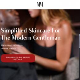 easy men's skincare routine